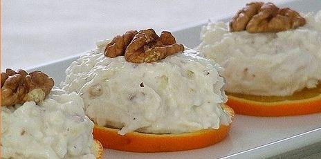 yogurtlu cevizli salata Yoğurtlu Cevizli Salata